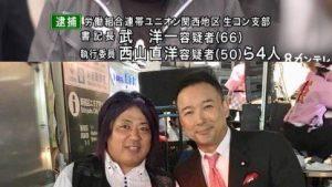 山本太郎は韓国とつながりのある犯罪組織の関西生コンとの関係を説明せよ