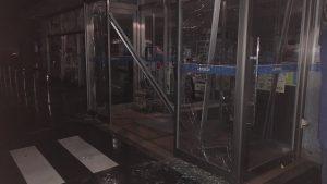 岡山県総社市の下原地区の朝日アルミ工場が爆発 ローソンのガラスも割れる!